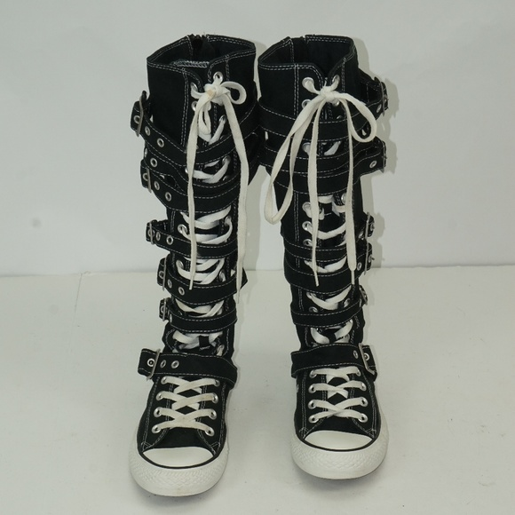 472f11c9fc2f Converse Shoes - WOMENS CONVERSE ALL STARS ZIP UP AND BUCKLE SHOES